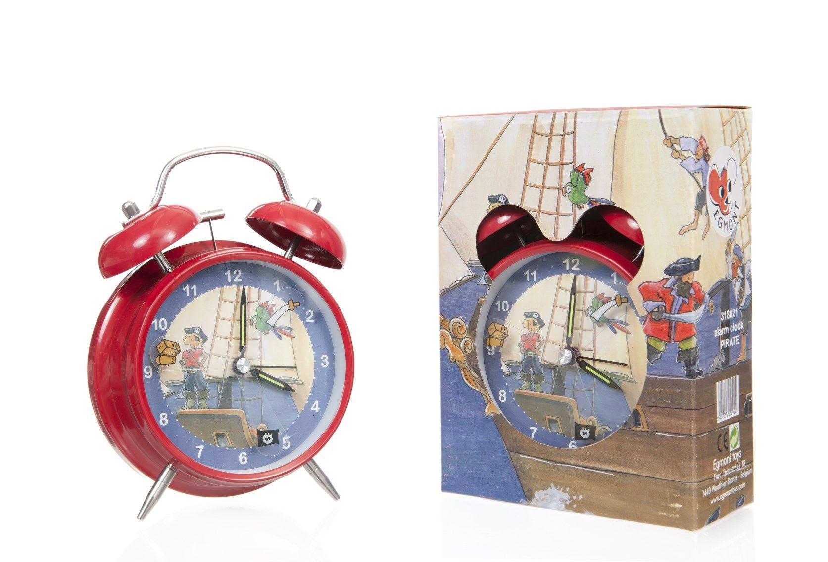 Kinderwekker Met Licht : Kinderwekker piraten bellenwekker van egmont toys voor stoere
