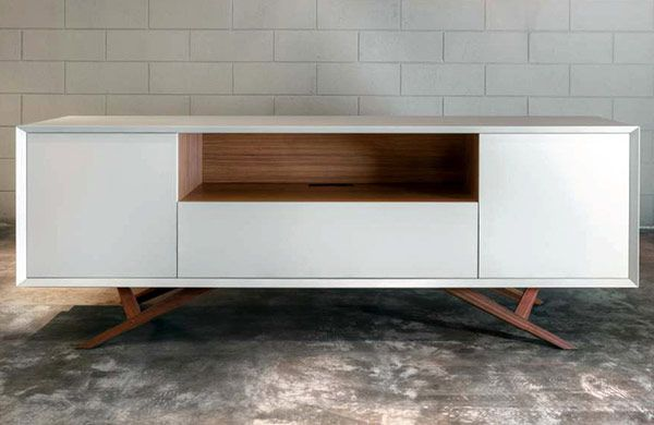 Credenza La Maison : Modern sideboard credenza storage usona. #furniture #modern