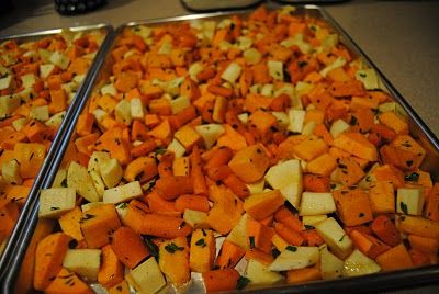 Ridgetop Farm: Roasted Winter Veggies