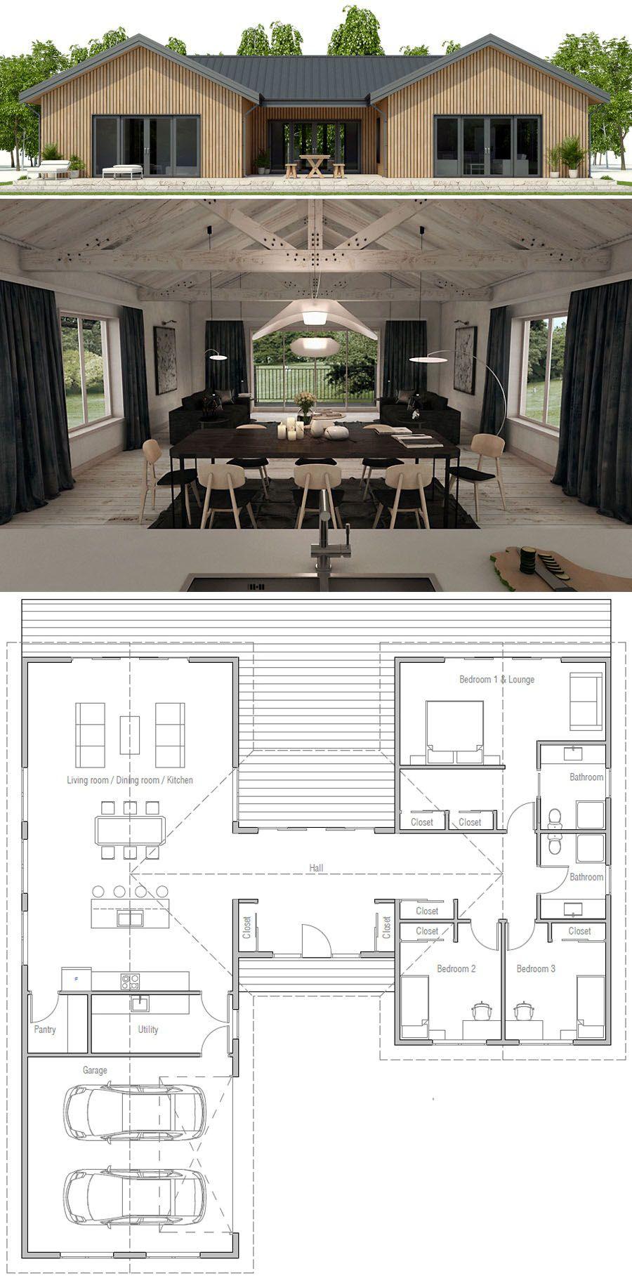 Küchenplan grundriss plan de maison  mein zu hause  pinterest  haus haus pläne und