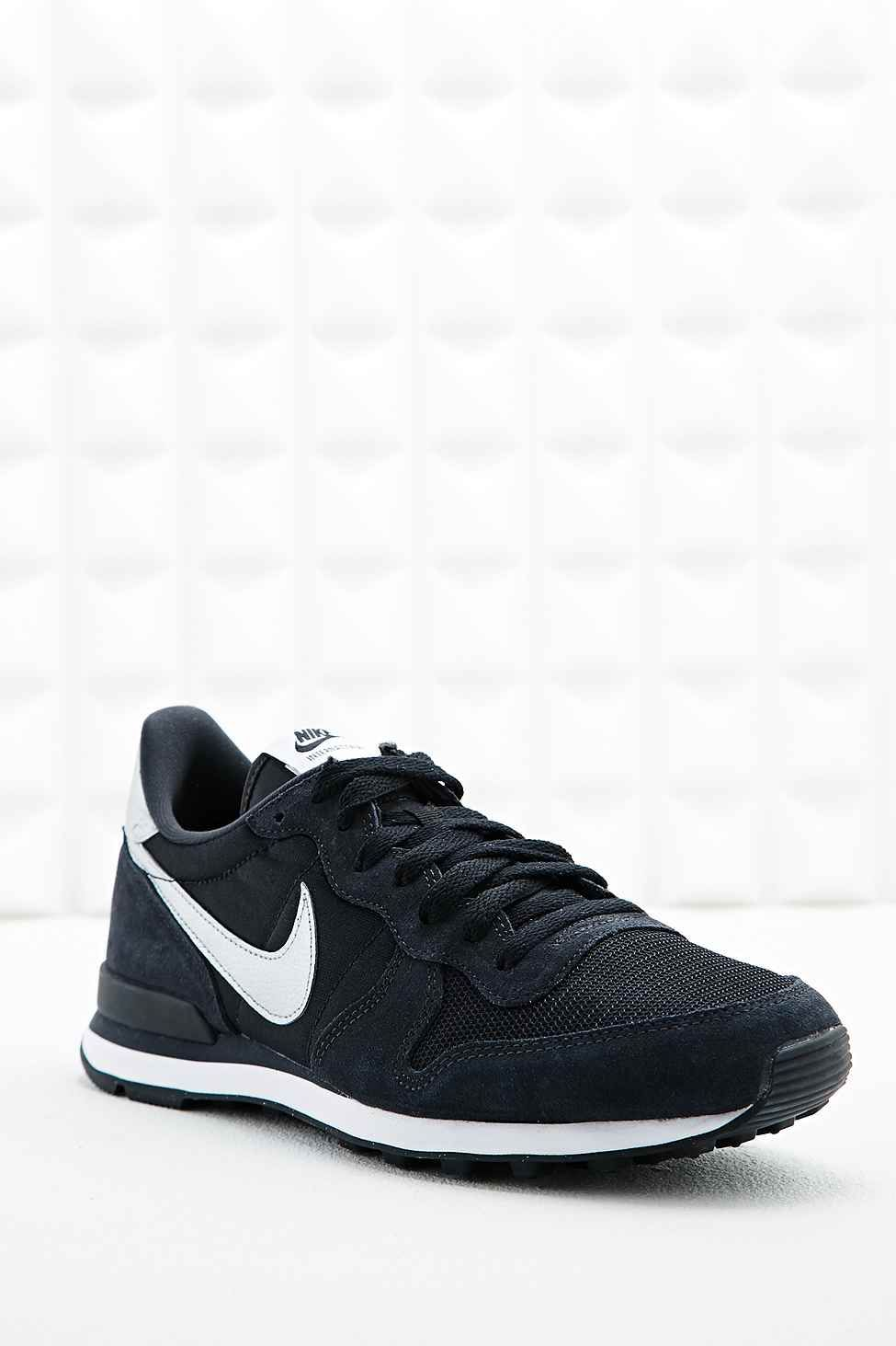 Nike Internationalist Trainers In Black And Grey Nike Nike Internationalist Black And Grey
