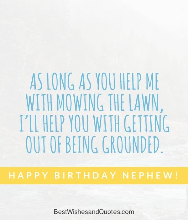 Happy Birthday Nephew Wishes And Messages Happy Birthday Nephew Nephew Birthday Nephew Quotes
