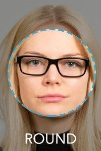 7c06d14c9a Woman s round face. Woman s round face Glasses ...