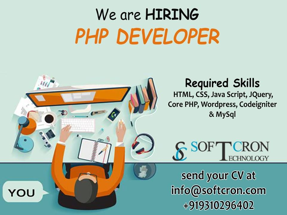 Softcron Technology Hiring Php Developers Location Rohtak Experience 1 To 3 Years Experienc Digital Marketing Services Marketing Services Digital Marketing