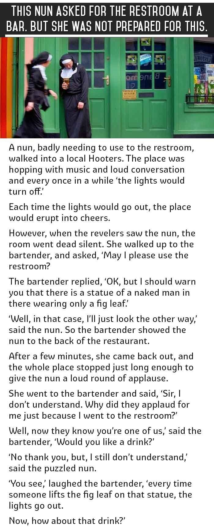 this most embarrassing moment for a nun this is priceless funny this most embarrassing moment for a nun this is priceless funny jokes story lol