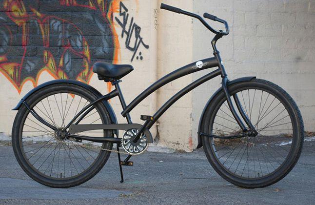 Women S Beach Cruiser Skullxbones Bicycle Custom Cruisers For