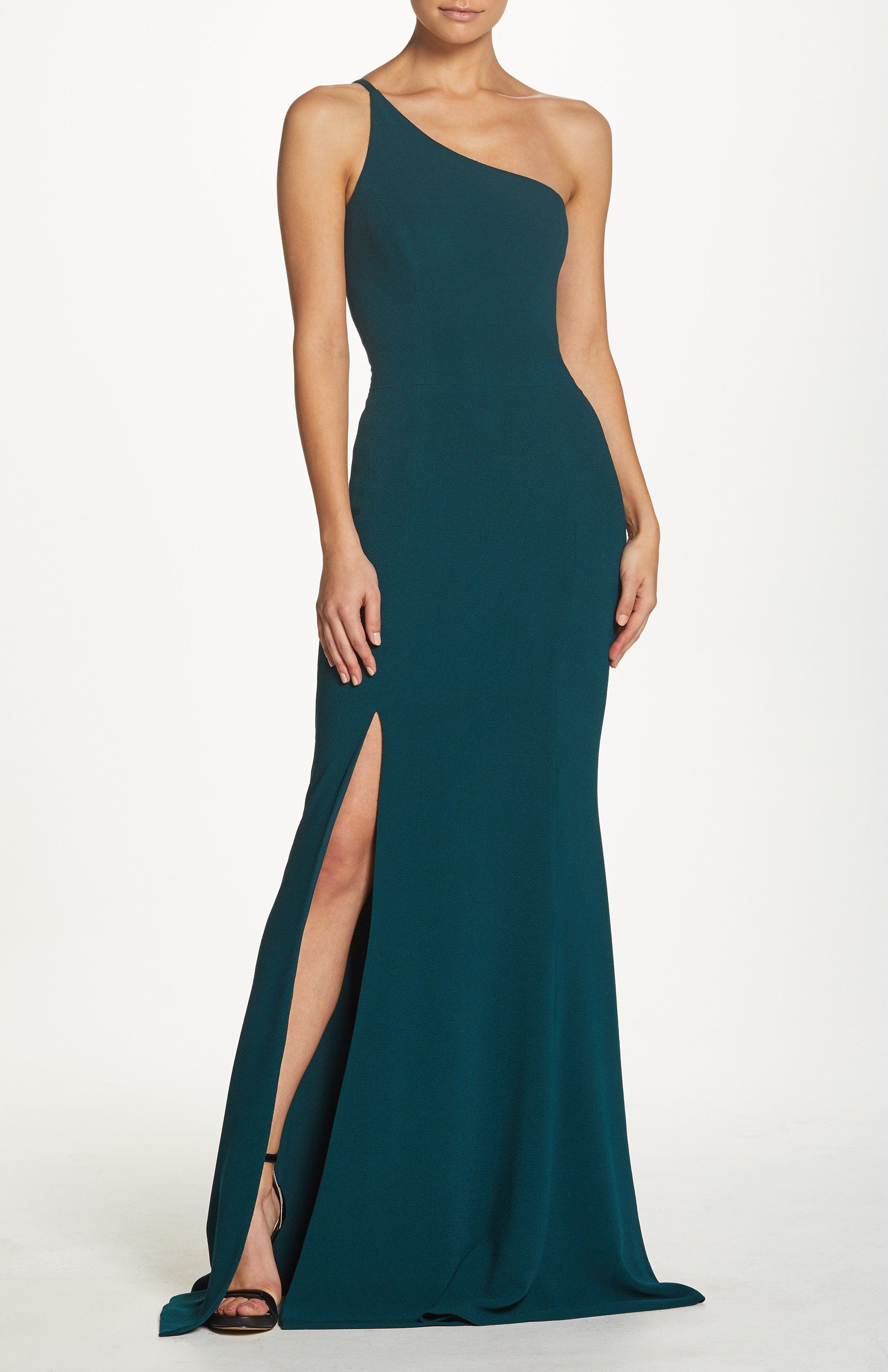 645d04987be Amy One Shoulder Mermaid Gown in 2019 | Wedding party dress inspo ...