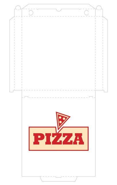 Noniu0027s Crafts Pizza Box template downloads \ printables - box template