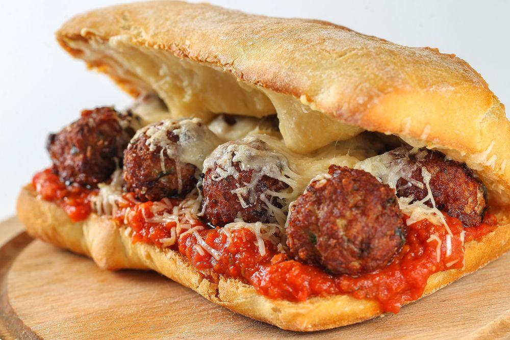 Subway Meatball Sub (healthy copycat version) | Recipe ...