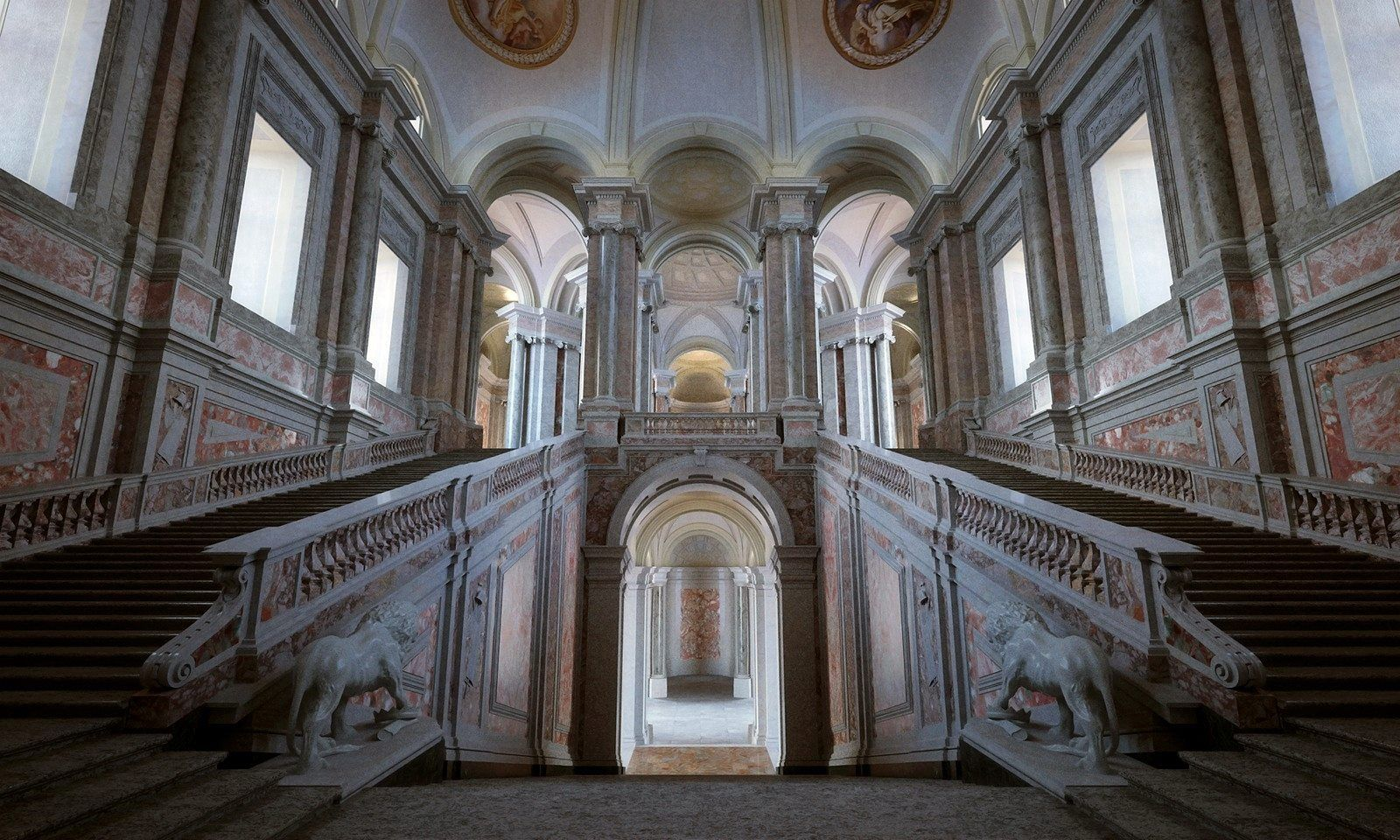 The royal palace caserta italy interior used for theed royal palace star wars episode i - Interior designer caserta ...