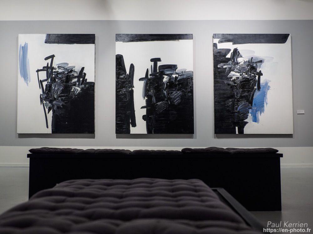 """visite de la superbe expo.  """"André Marfaing peintures - lavis"""" au Musée des Beaux-Arts  - à Quimper   © Paul Kerrien 2017 https://en-photo.fr Finistère Bretagne"""