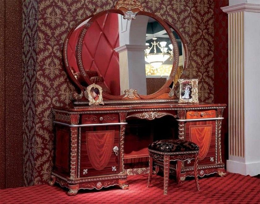 Modern Oval And Wood Table Designs Luxury Wooden Dressing Table Vanity Table Set Dressing Table Design Dressing Table Modern