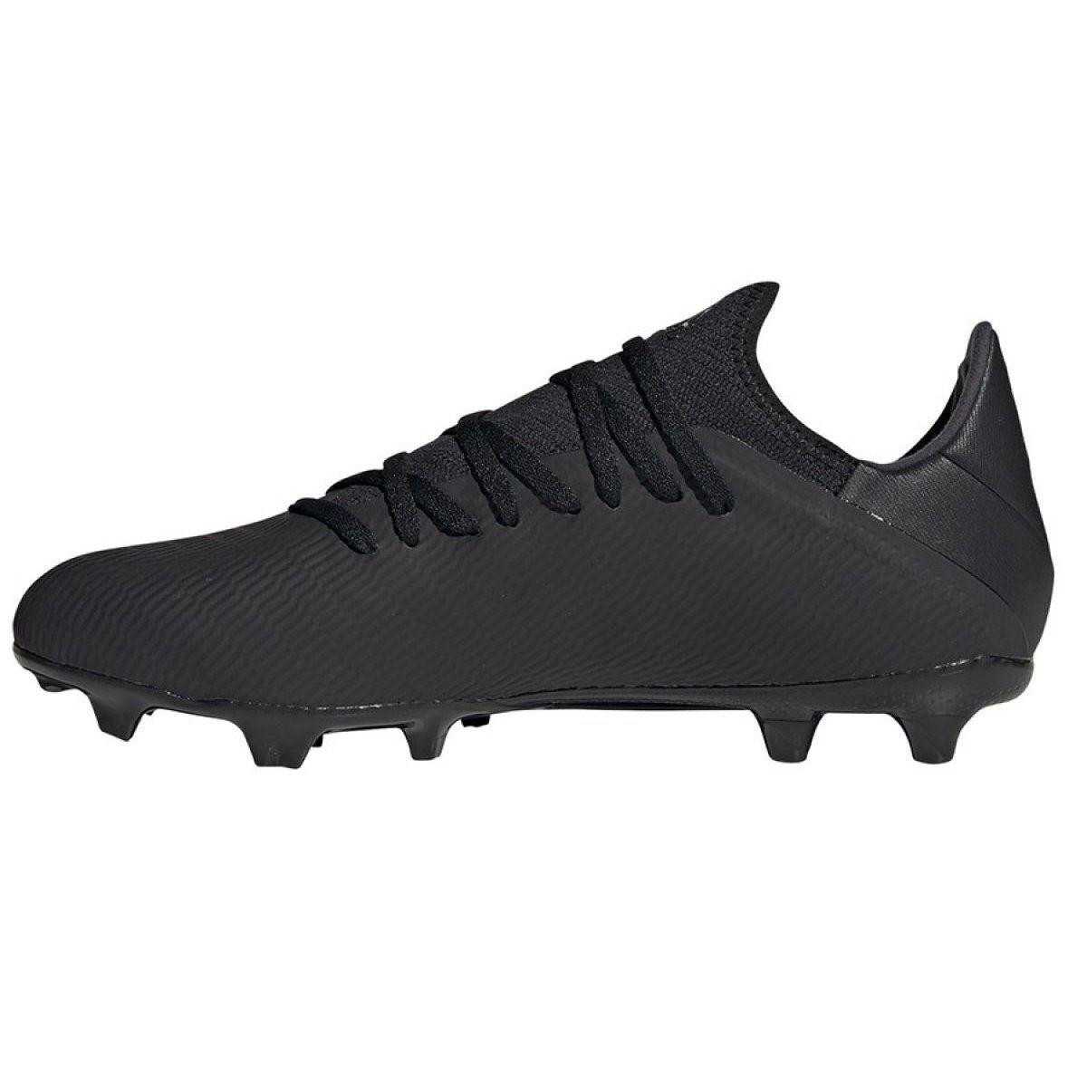Buty Pilkarskie Adidas X 19 3 Fg M F35381 Czarne Czarne Football Boots Football Shoes Boots