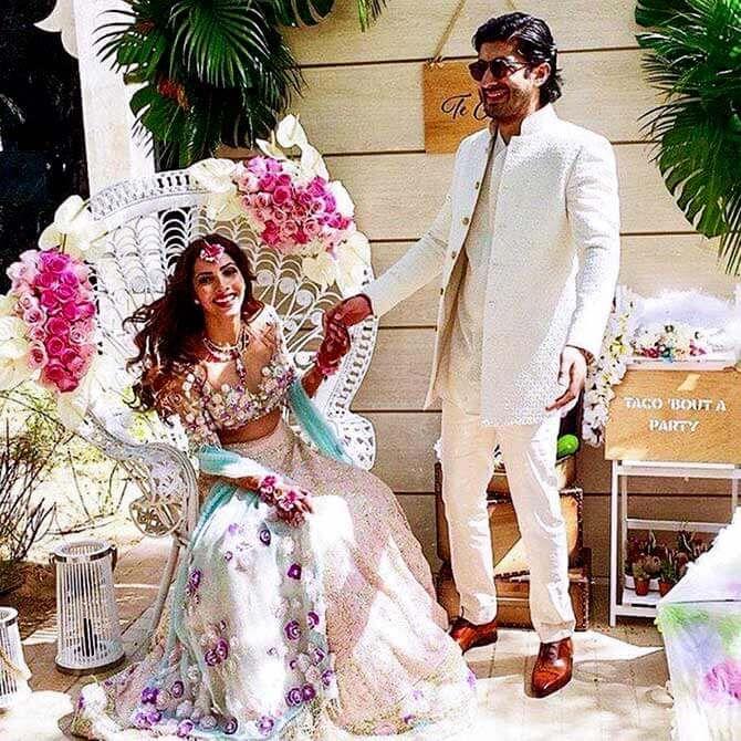 Sonam Kapoor's cousin mehendi ceremony Indian wedding