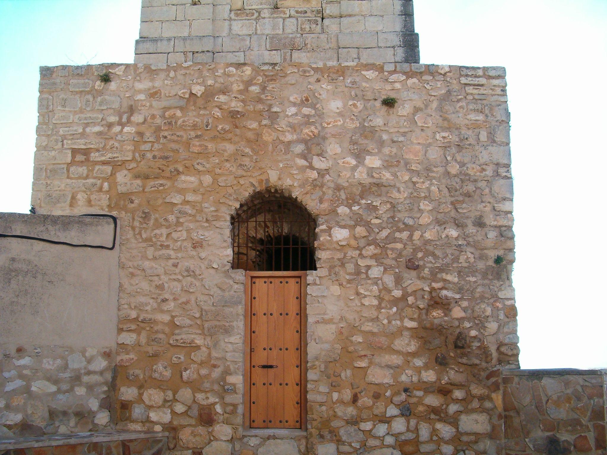 entrada al campanario de la Virgen de la Villa