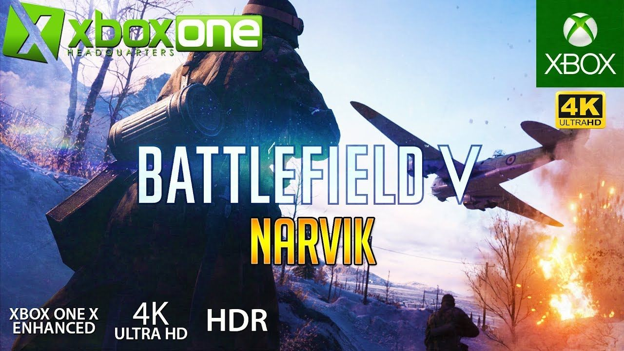 Xboxone 4k Battlefield V Bfv Xbox One X Multiplayer Gameplay