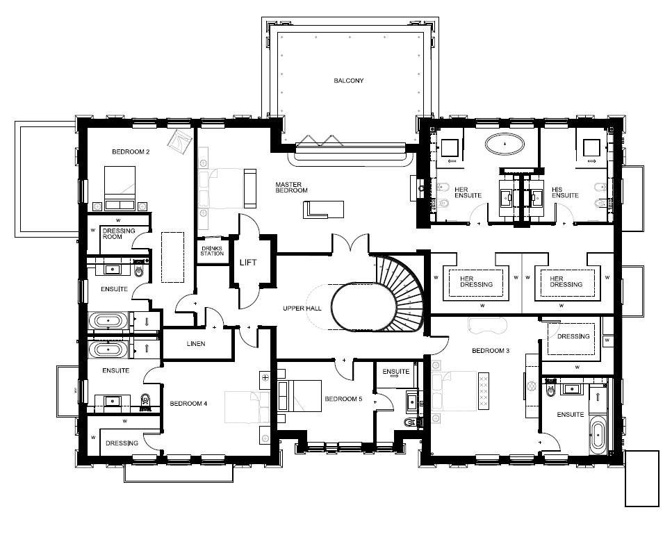 Abbots Drive in 2020 | Modern floor plans, Architectural ...