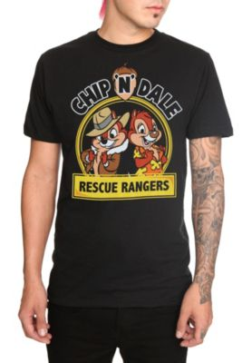 (Limited Supply) Click Image Above: Disney Chip n Dale Rescue Rangers T-shirt 2xl