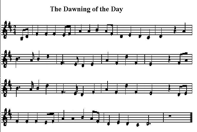 the dawning of the day sheet music - Google Search | Tin Whistle