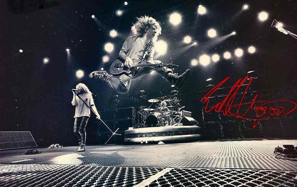 Henri S Blog 187 Van Halen Stripes Red