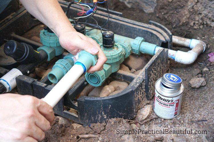How to Install a Sprinkler System Part 2 Sprinkler