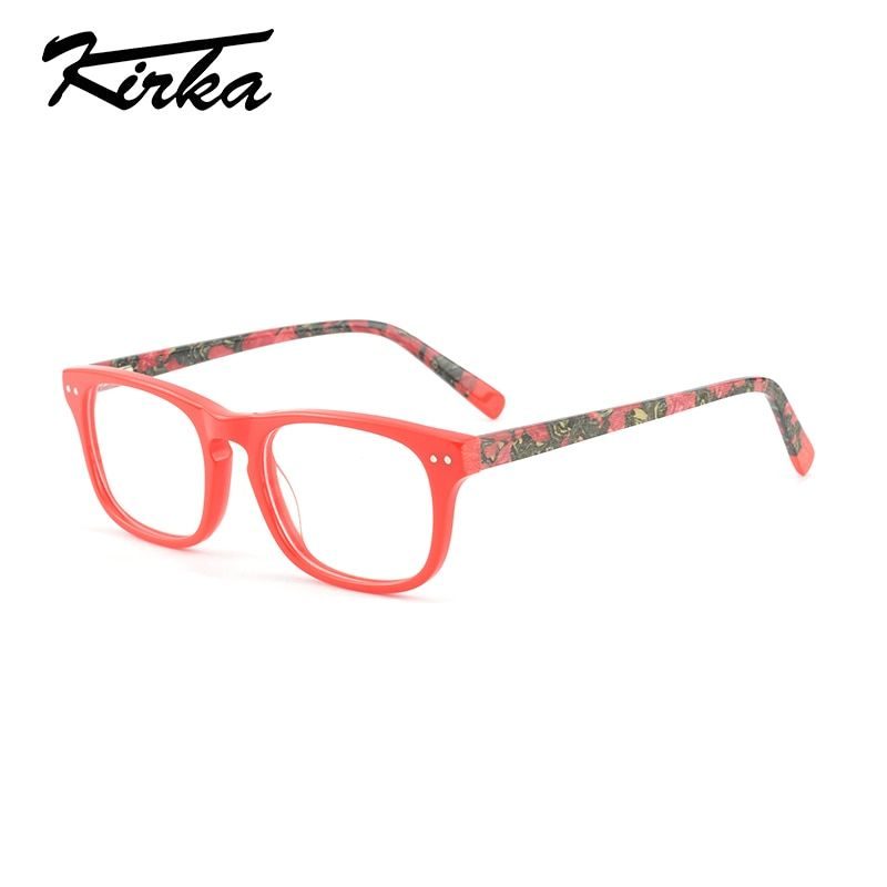 98a7eed5f8 60% Cashback + 14% OFF - Kirka New Arrivel 2018 Women Eyeglasses Women  Frame Classic Decoration Optical Glasses Reading Glasses Glasses Frame Women  -  12.81