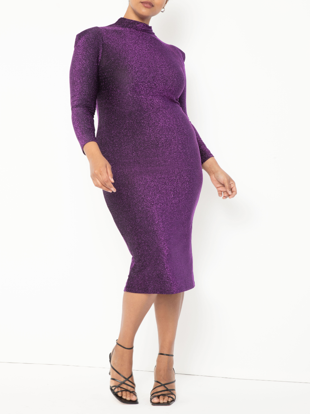Eloquii Eloquii Women S Plus Size Turtleneck Bodycon Dress Walmart Com Bodycon Dress Dresses Bodycon [ 1333 x 1000 Pixel ]