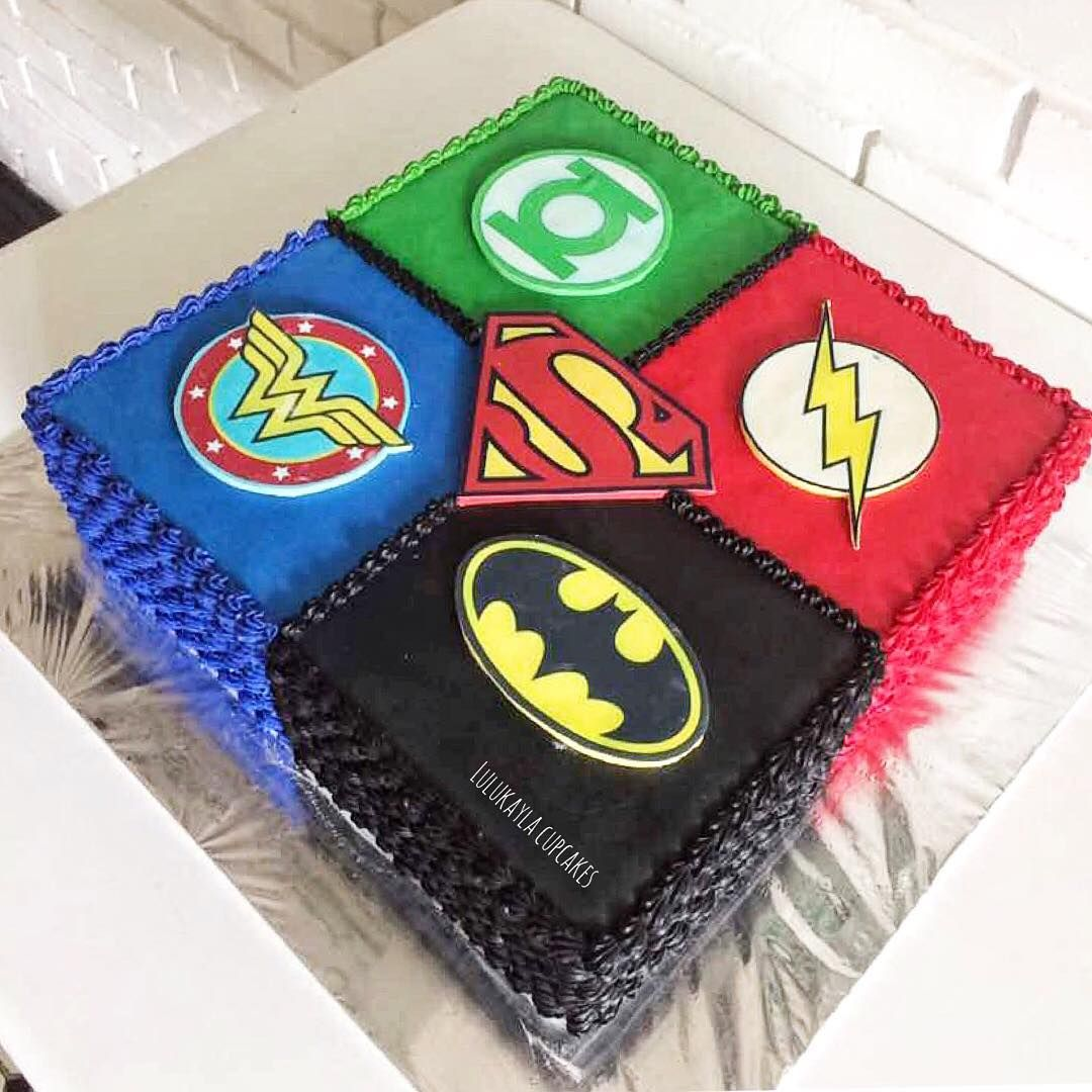 lulukaylacupcakes | Justice League | Children Party 3 in 2019 ...
