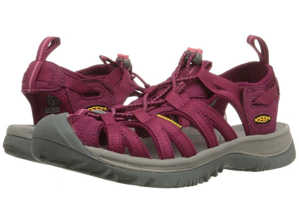 97ceb513885c Keen Whisper Women s Sandals Beet Red Honeysuckle