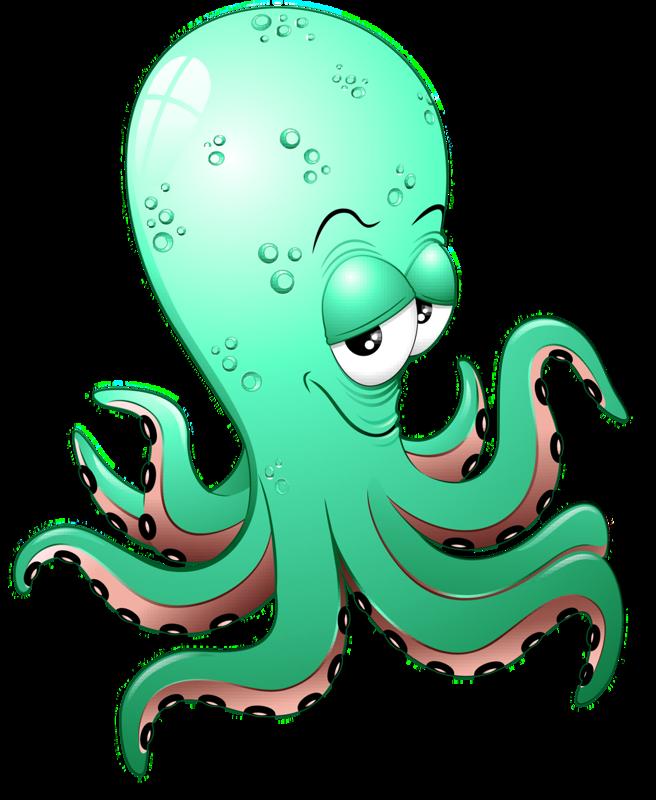 Картинки осьминога из мультфильмов