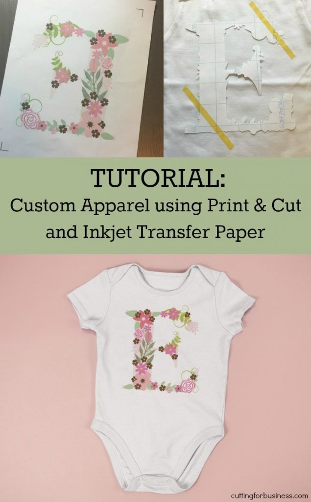 Tutorial: Inkjet Transfer Paper & Print and Cut | Silhouette