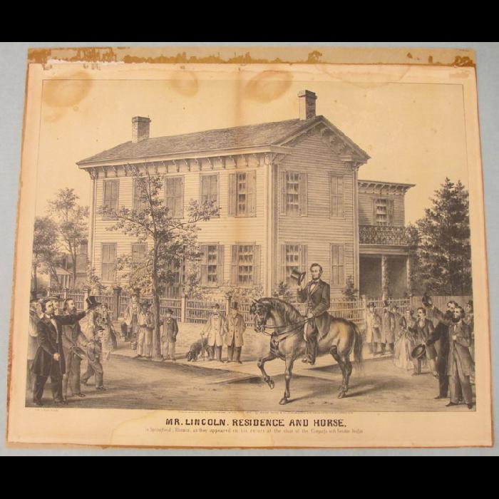 Mr Lincoln Residence And Horse The Lincoln Financial Foundation Collection Lincoln Financial Horses Lincoln
