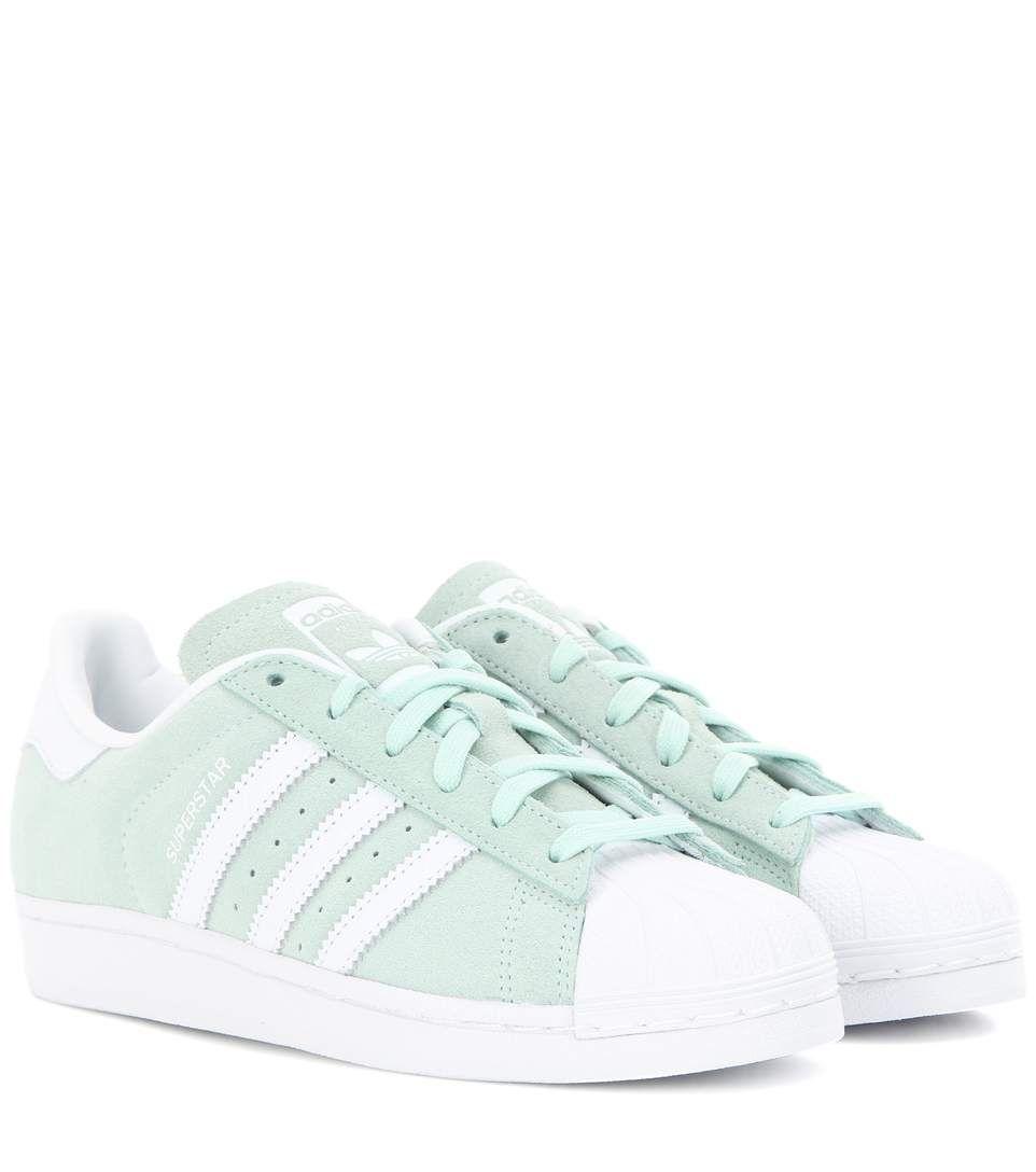 Sneakers Pinterest Superstar Aus Veloursleder Schuhe Mintfarbene ACwq1C
