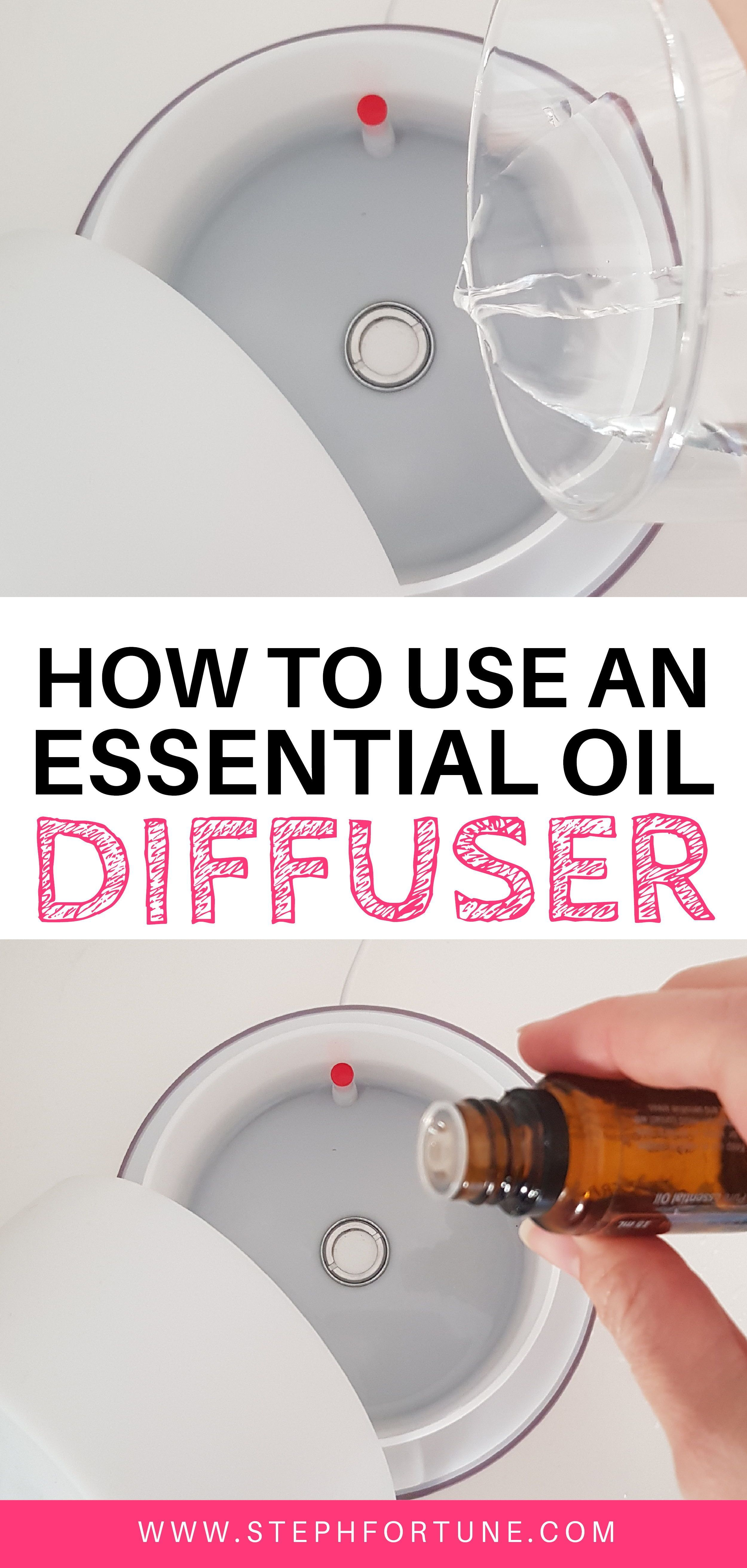 to Use an Diffuser with Essential oils (Diffusing 101) How to Use an Essential Oil Diffuser  * Why diffuse? * How long for? * How many drops? * How do i use it? * Diffuser blends How to Use an Essential Oil Diffuser  * Why diffuse? * How long for? * How many drops? * How do i use it? * Diffuser blends