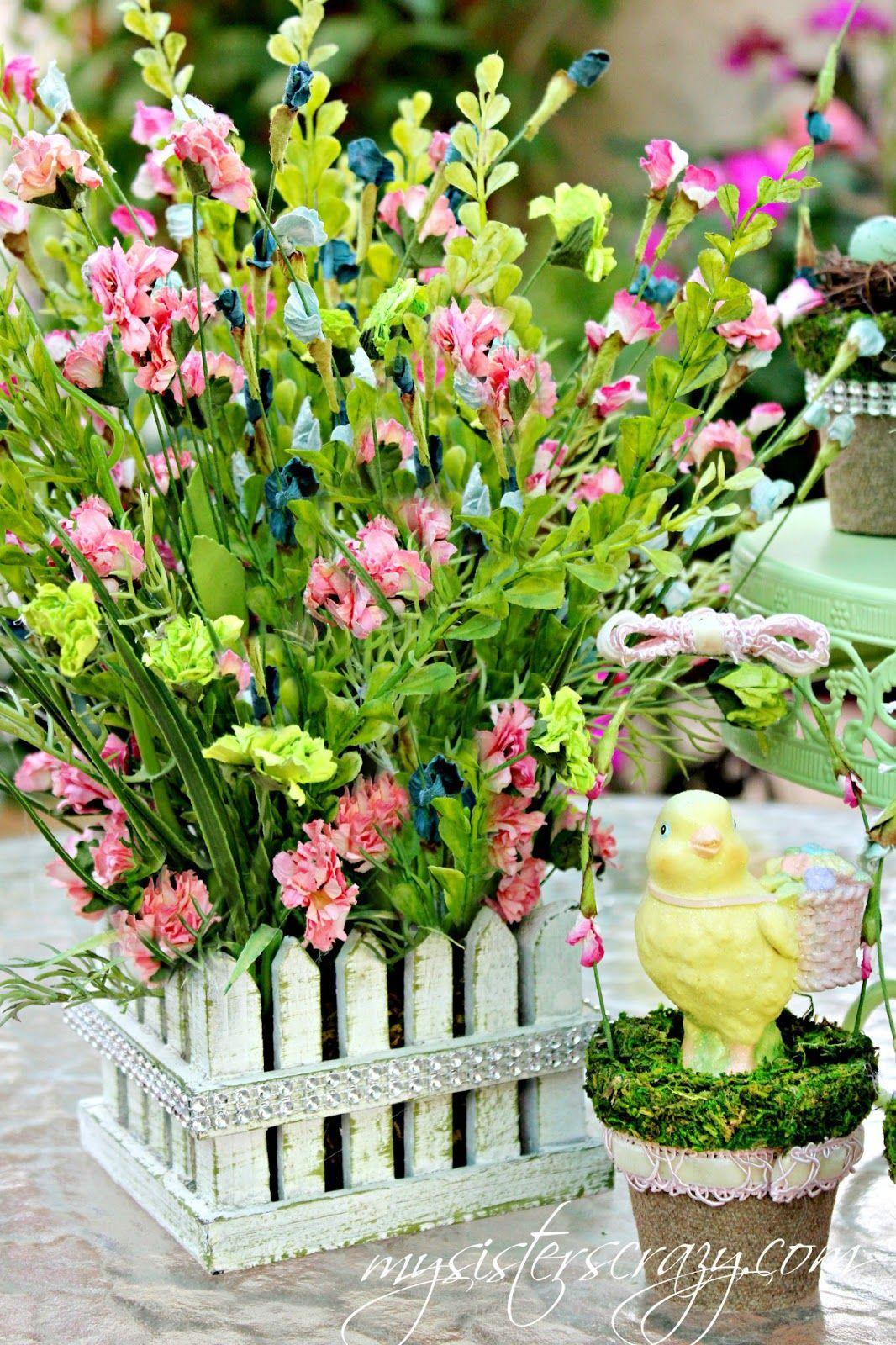 Easter Flower Arrangement   Pretty Flowers   Pinterest   Easter ...