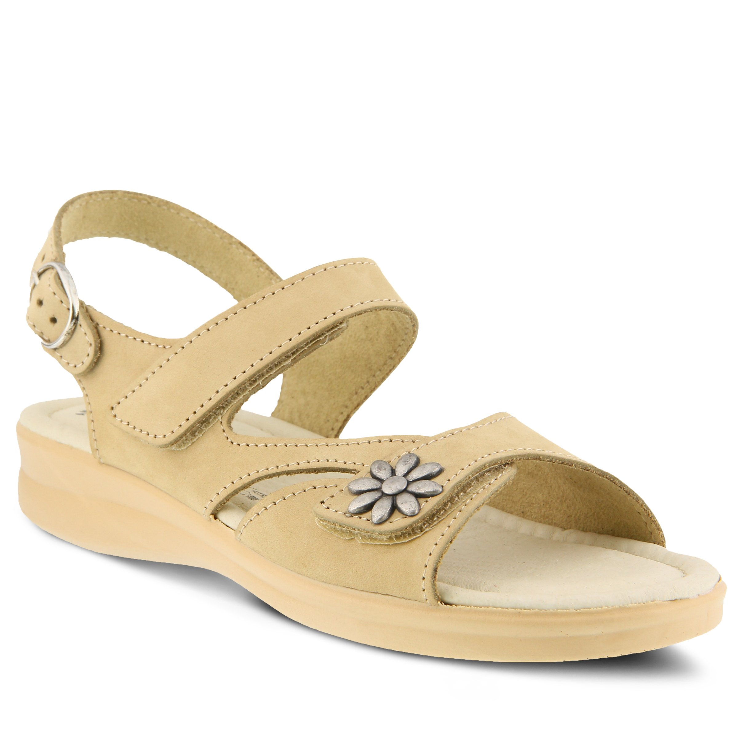 Flexus by Spring Step Womens Mukava Heeled Sandal