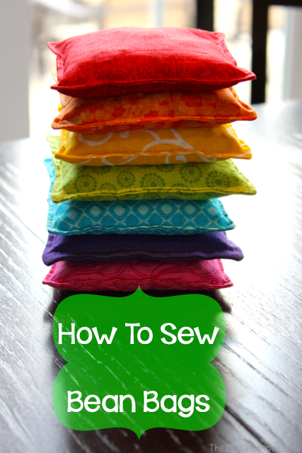 How To Sew Bean Bags For Kids With Images Sewing Projects For