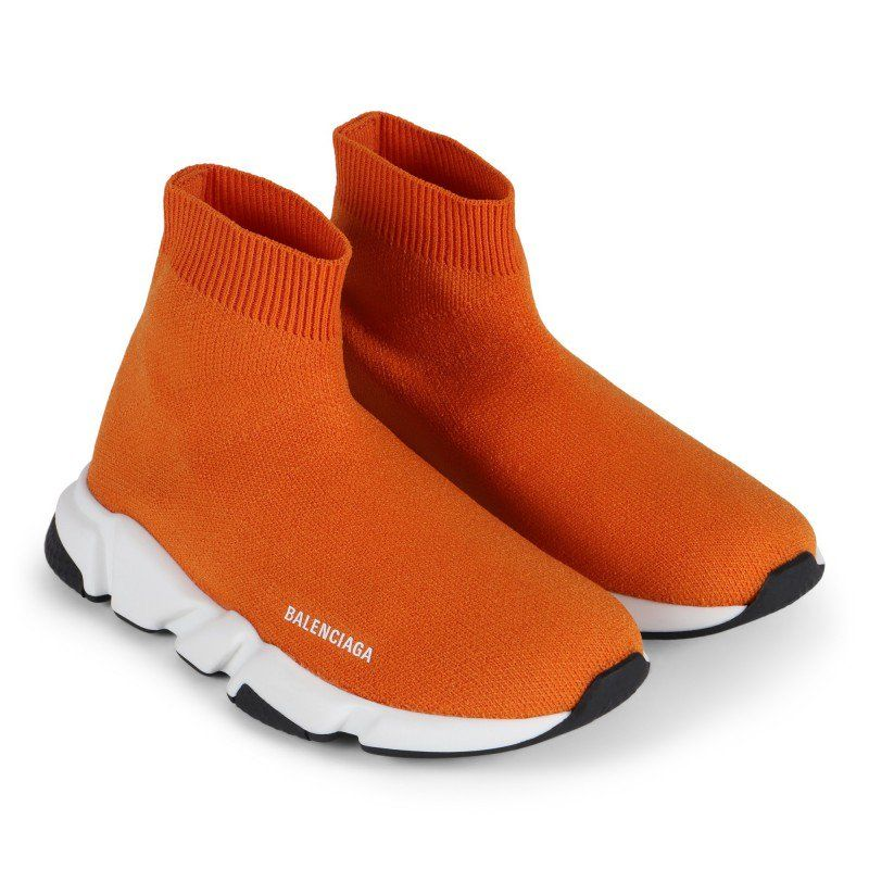 orange balenciagas