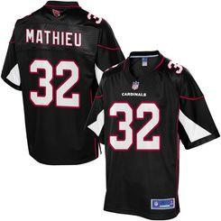 2c3a18a7aee Pro Line Men's Arizona Cardinals Tyrann Mathieu Alternate Jersey-size adult  small