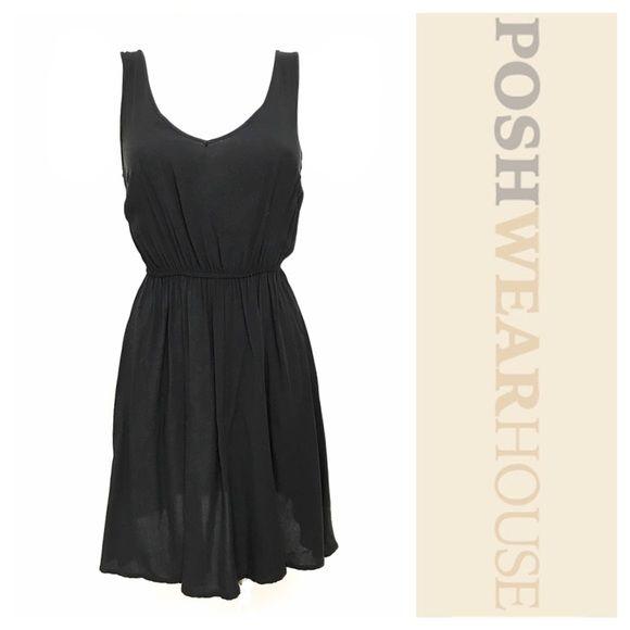 Black Lightweight Summer Dress NWOT • Pullover Application
