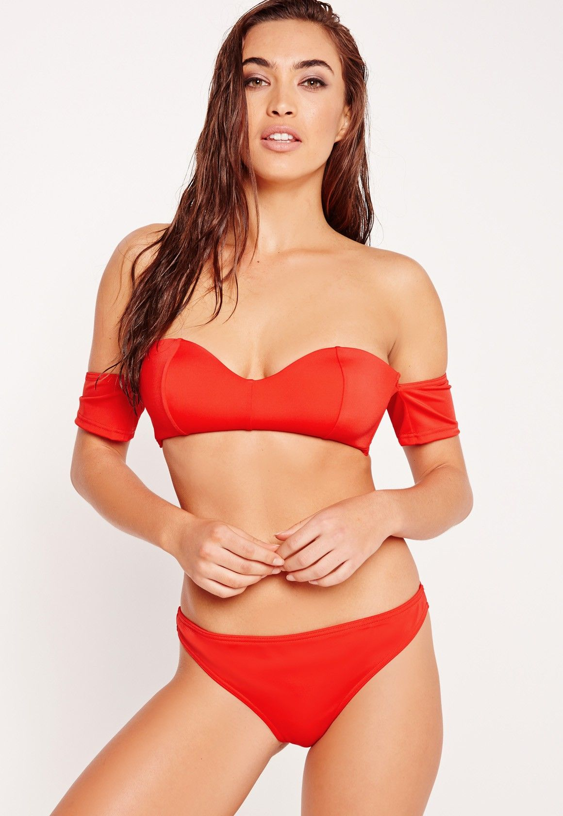 757bd47988871 A Bikini A Day x Missguided is our new collaboration with swimsuit blogger  babes Natasha Oakley   Devin Brugman! Look red hot on the beach in this  super ...