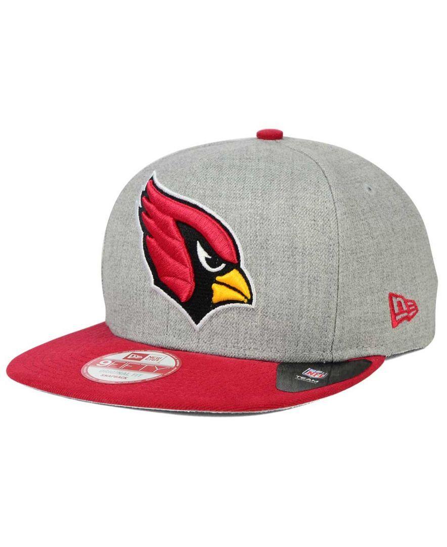 3b6e79ce838 New Era Arizona Cardinals Grand 9FIFTY Snapback Cap