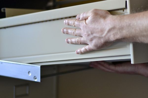 While Many Multi Drawer File Cabinets Are Built For Quick Disembly Hon Lateral Not Engineered Easy Or Accidental Removal