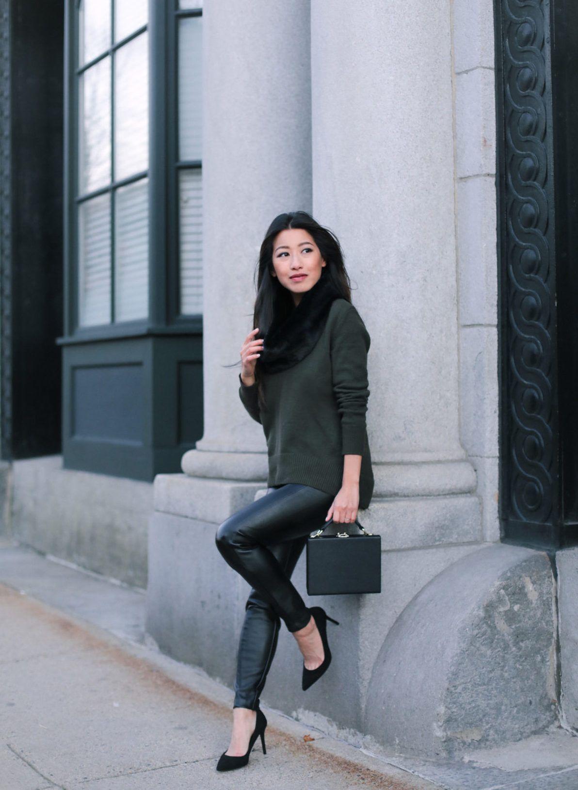 faux leather legging pants petite fashion blog db4b5fd19