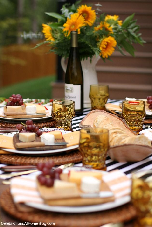 Ideas For Dinner Party At Home Part - 38: Entertaining : Welcome Fall With A Dinner Party Al Fresco