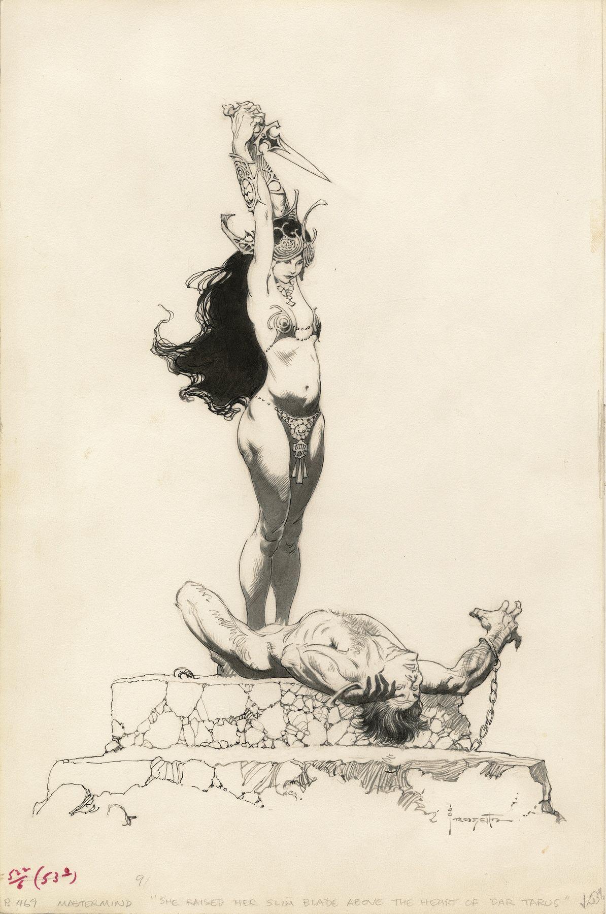 Get Ready To Appreciate The Fantasy Art of Frank Frazetta on a Whole ...