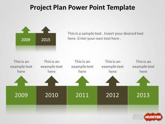 ProjectPlanPowerpointTemplate  Projects To Try