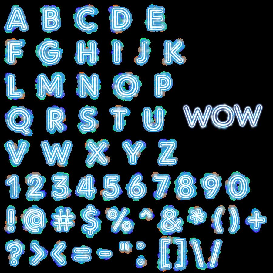 Free Font Alphabet Alpha Set Script Letters Numbers
