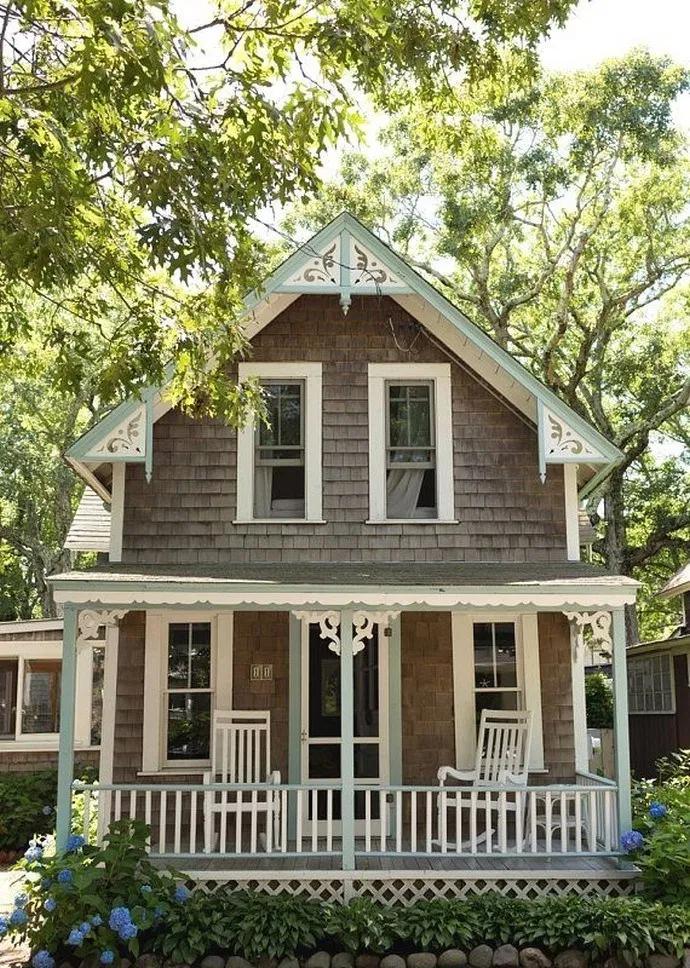 15 Top Modern Farmhouse Exterior Design Ideas Exteriordesign Exterior Exteriorideas Beautifu In 2020 Small Cottage Homes Cottage House Plans Dream House Exterior