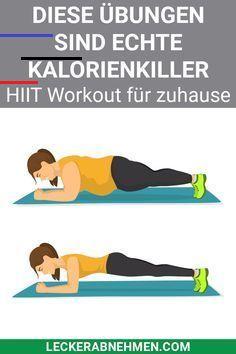 Die 10 besten HIIT Übungen - Mit Trainingsplan Hier zeigen wir dir einen HIIT Trainingsplan und stel...